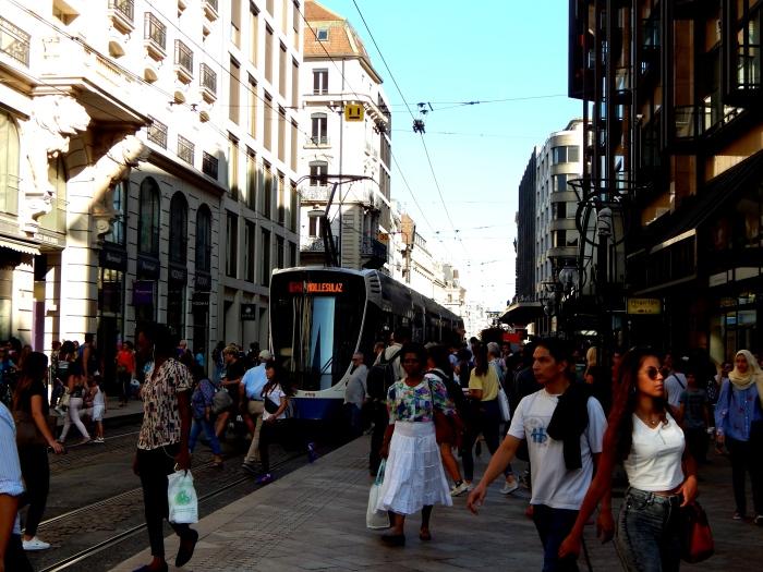 Rue de Rive, Rue de la Croix-d'Or et Rue du Marché