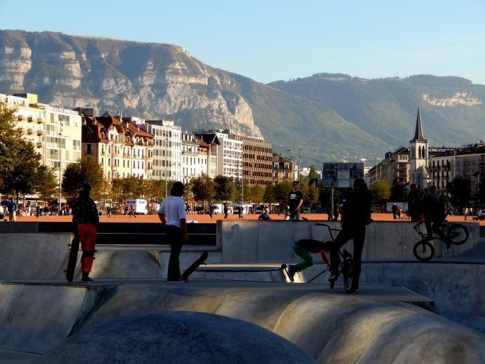 Skatepark de la Plaine de Plainpalais